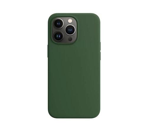 """""""Темно-зеленый"""" чехол на iPhone 13 Pro / Max"""