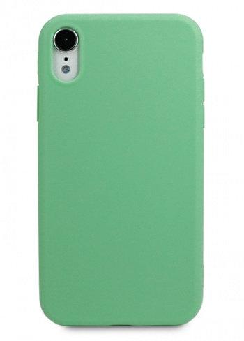 Чехол для iPhone XR TPU Matte (Салатовый)