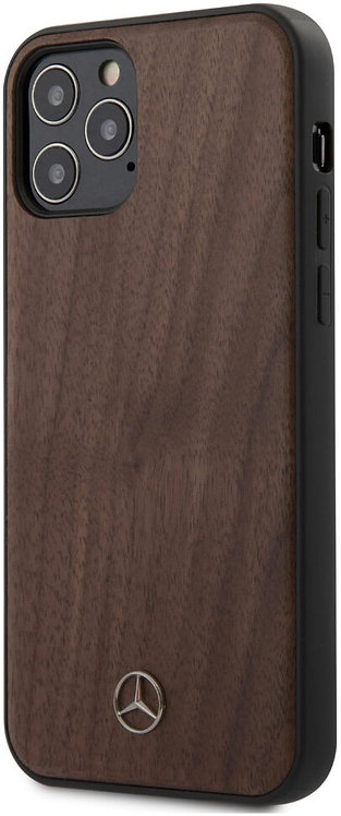 Чехол CG Mobile Mercedes Wood Hard для iPhone 12 Pro Max