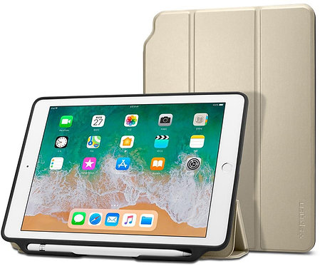 "Чехол-книжка Spigen Smart Fold 2 gold - iPad 9.7"" 2017/2018"