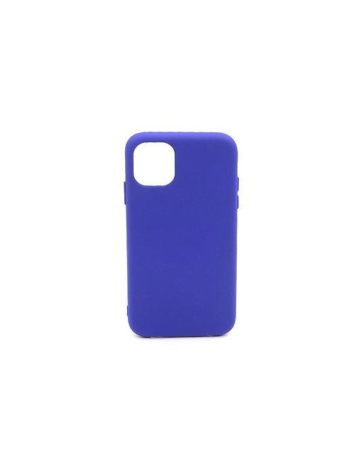 Синий чехол для iPhone 11