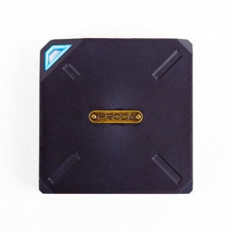 Внешний аккумулятор (АКБ) Power Bank Proda PPP-6 Yogurt (10000mAh) черно-голубой