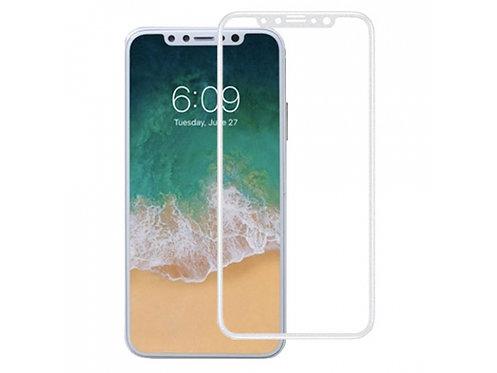 5D защитное стекло для iPhone X/XS/11Pro белое