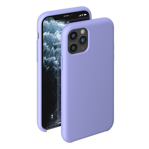 Чехол Liquid Silicone Case для Apple iPhone 11 Pro лавандовый
