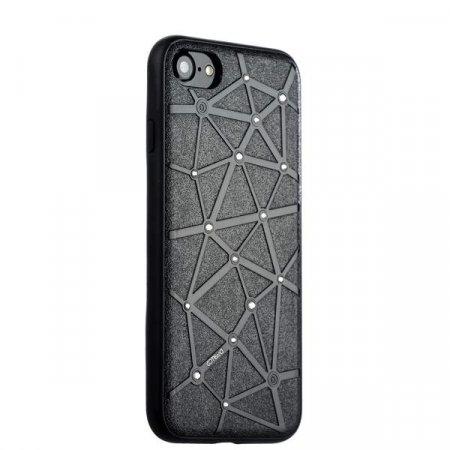 Силиконовый чехол-накладка для iPhone 7/8/SE (2020) COTEetCI Star Diamond Case