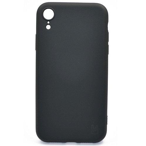 Черный чехол  для iPhone Xr YOLKKI Rivoli силикон