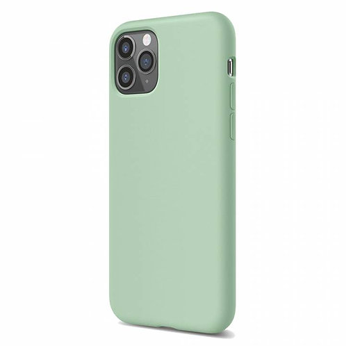 Накладка iPhone 11 Pro Silicone Case светло-зеленый