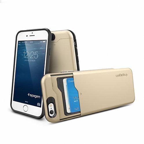 Чехол-трансформер SPIGEN для iPhone 6s/6 - Slim Armor CS - Шампань