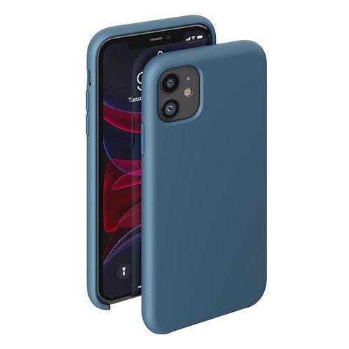 Чехол Liquid Silicone Case для Apple iPhone 11 темно-синий