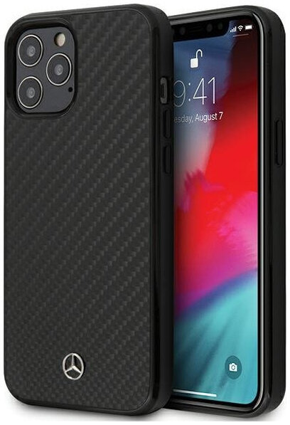 Чехол CG Mobile Mercedes Dynamic Real carbon Hard для iPhone 12/12 Pro