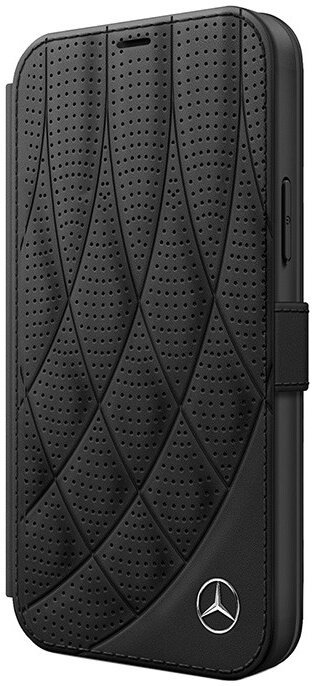 Чехол-книжка CG Mobile Mercedes Genuine leather Bow Quilted/perforated Booktype