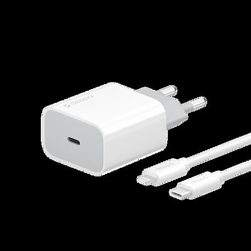 СЗУ USB Type-C, PD 18W Дата-кабель USB-C – Lightning, MFI