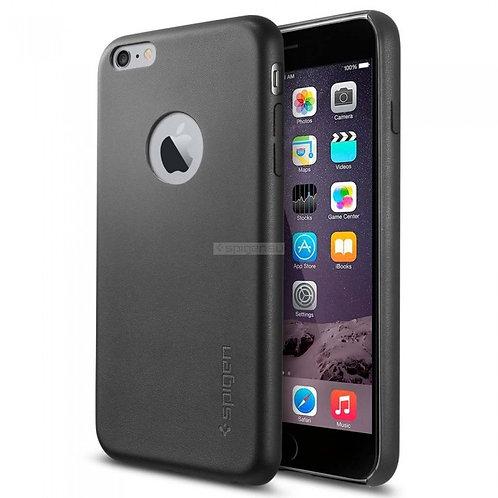 Кожаный клип-кейс SPIGEN для iPhone 6s Plus / 6 Plus Черный