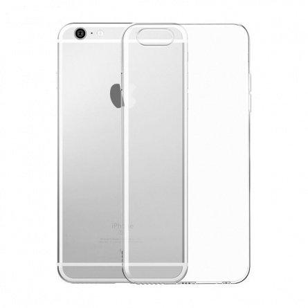 Силиконовый чехол для iPhone 6/6S прозрачный