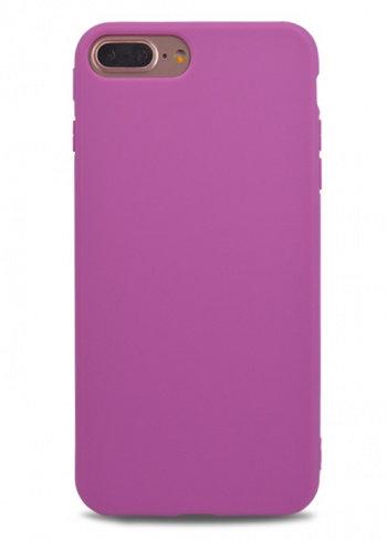 Чехол для iPhone 7+ TPU Matte (Фиолетовый)