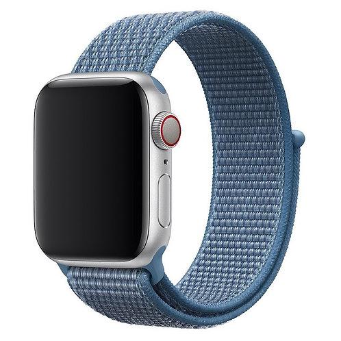 Спортивный браслет для Apple Watch 42/44mm (лазурная волна)