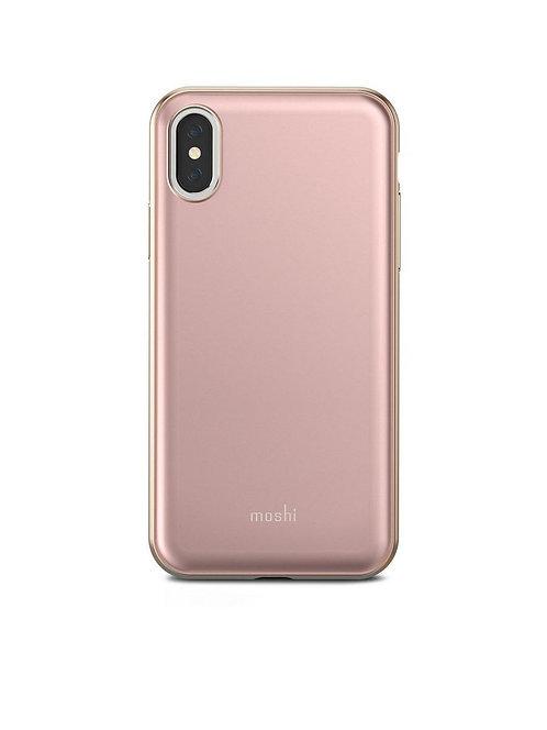 Клип-кейс Moshi iGlaze для iPhone X/XS - Pink