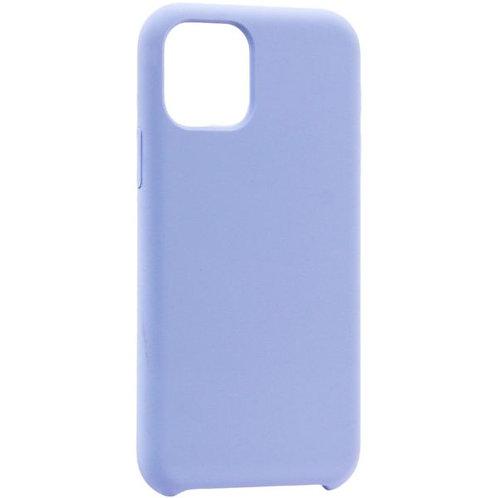 Накладка iPhone 11 Pro Silicone Case сиреневый