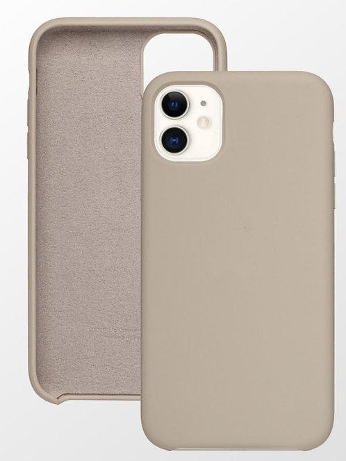 Лавандовый силиконовый чехол для Apple iPhone 11