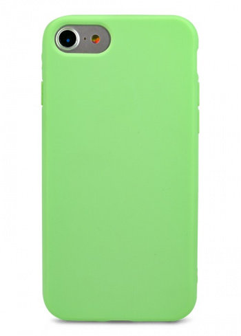 Чехол для iPhone 7 TPU Matte (Салатовый)
