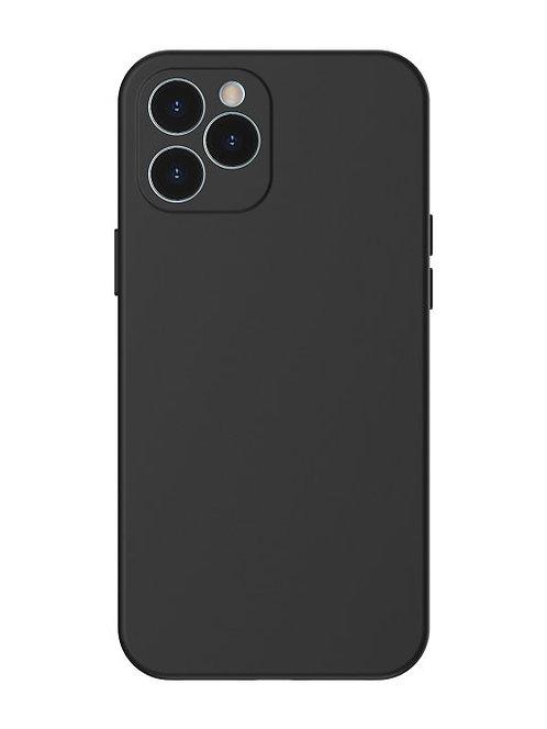 Чехол накладка совместим с iphone 11 pro max Yolki rivoli силикон черный с закры