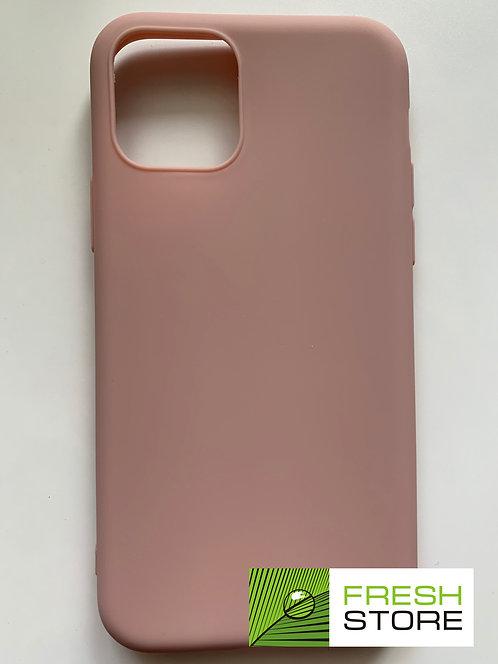 Защитный чехол для iPhone 11 pro с полной защитой розовый