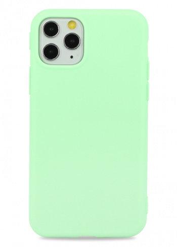Чехол для iPhone 11Pro TPU Matte (Салатовый)