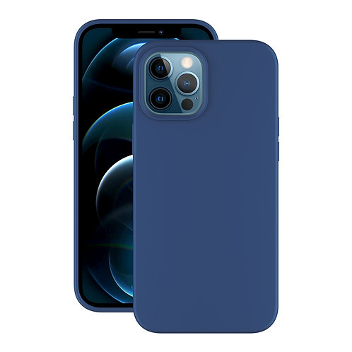 Чехол Liquid Silicone для Apple iPhone 12 Pro