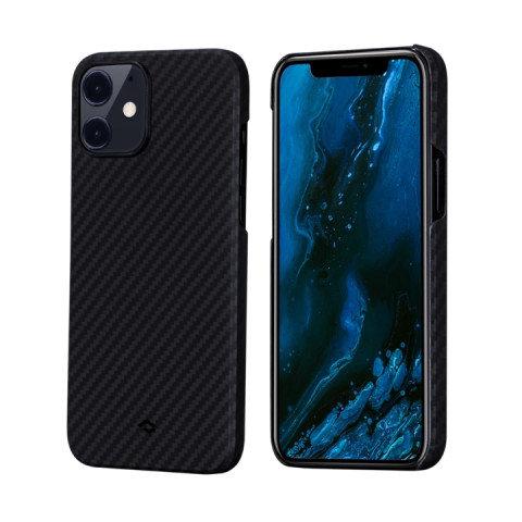 "Чехол Pitaka MagEZ Case для iPhone 12 mini 5.4"", черно-серый, кевлар (арамид)"