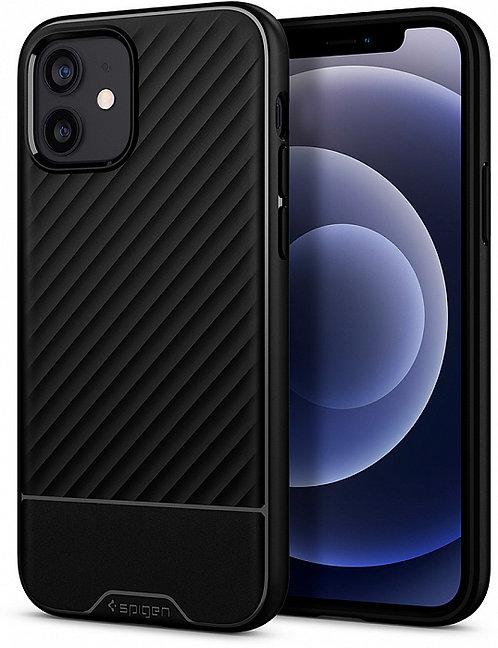 Чехол Spigen Core Armor для iPhone 12 (Black)
