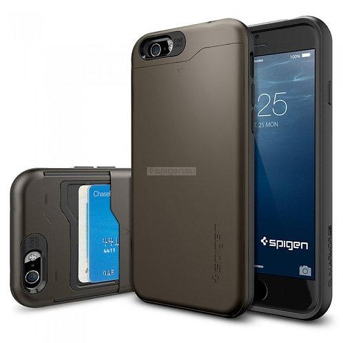 Чехол-трансформер SPIGEN для iPhone 6s/6 - Slim Armor CS - Темно-серый