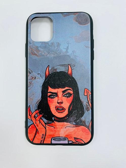 Чехол для Apple iPhone 11 Демон