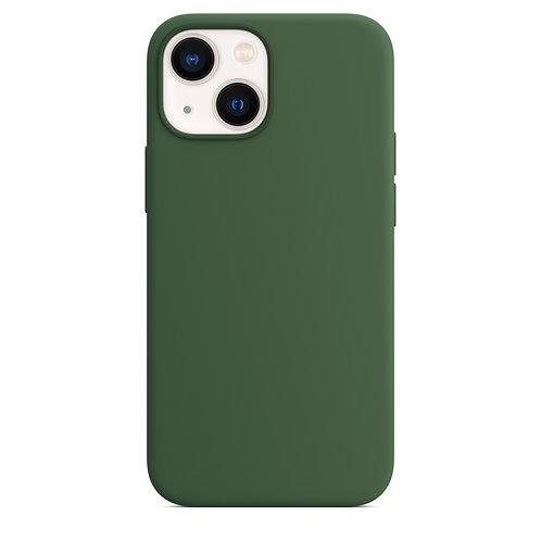 """""""Темно-зеленый"""" чехол на iPhone 13"""