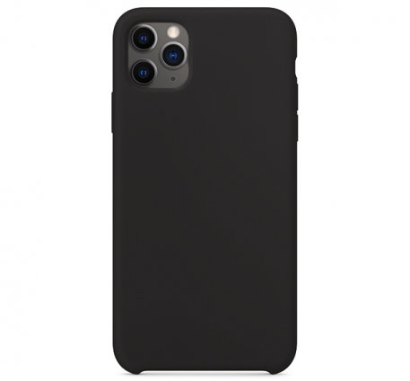 Накладка iPhone 11 Pro Silicone Case черный