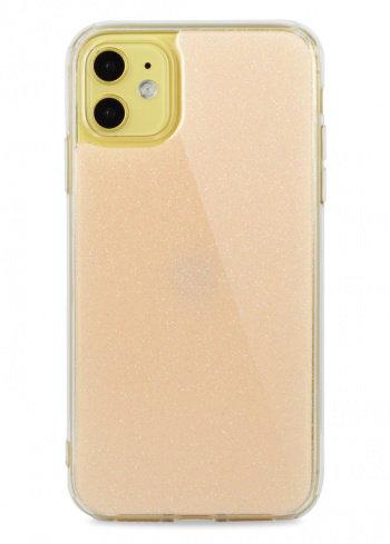 Чехол для iPhone 11 Glint силикон+гель (Пудровый)