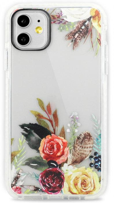 Чехол для iPhone 11 Sweet силикон (Букет)