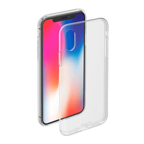 Силиконовый чехол для iPhone X/XS прозрачный