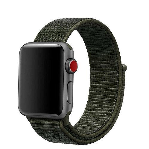Ремешок нейлоновый для Apple Watch 38-40мм Хаки
