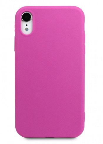 Чехол для iPhone XR TPU Matte (Фиолетовый)