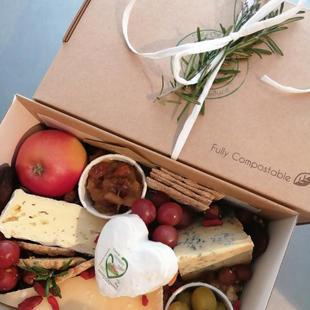 Valentine's Cheese Platter