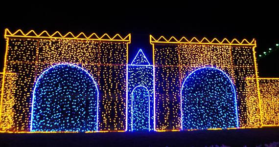 LED lighting decoration, neon light decoration,street lighting,