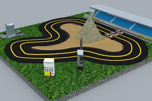 Car Race 5 Mtrs X 5 Mtrs X 1 MtR - #RF072
