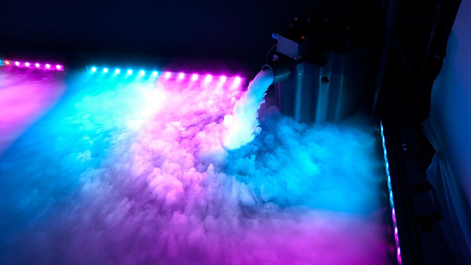 Low smoke Machine, cloud effects, cloud smoke machine, dry ice machine,