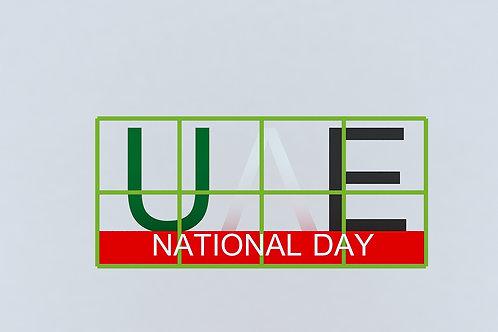 UAE NATIONAL DAY PROP #RF139