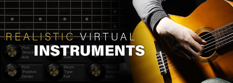 Realisitc Virtual Instruments - Audiojunkie advanced tutorial - Make your virtual instruments sound more real