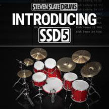 Steven Slate Drums SSD5 Drum Sample Pack