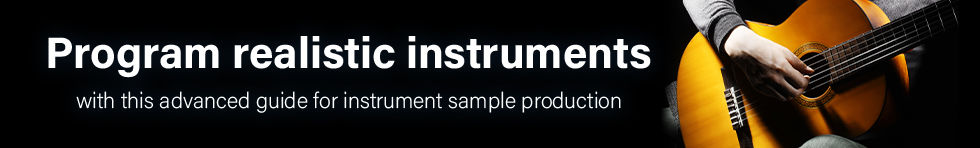 Instrument Production - Audiojunkie realistic instrument production tutorial