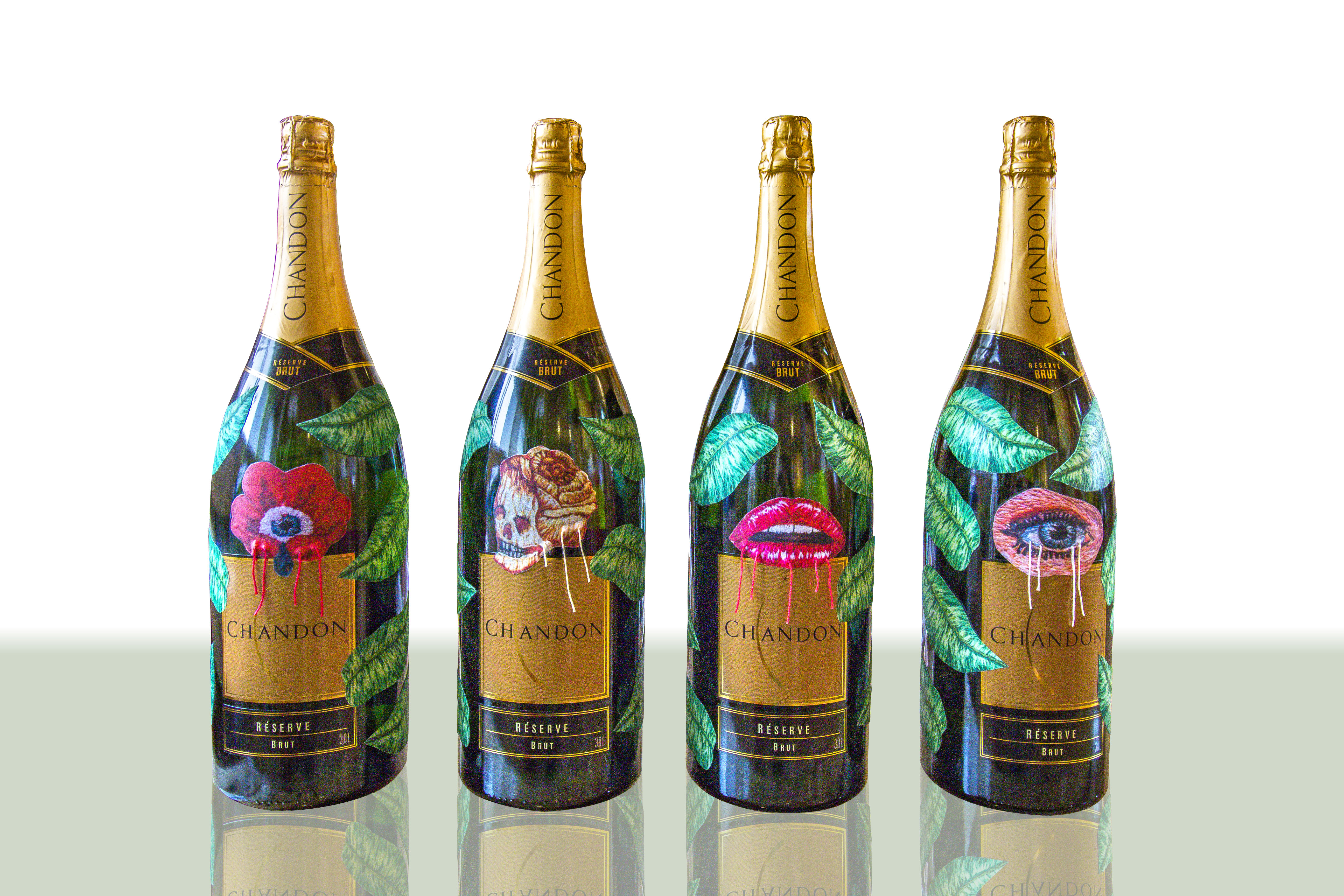 Chandon bottles