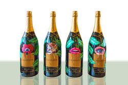Chandon bottles