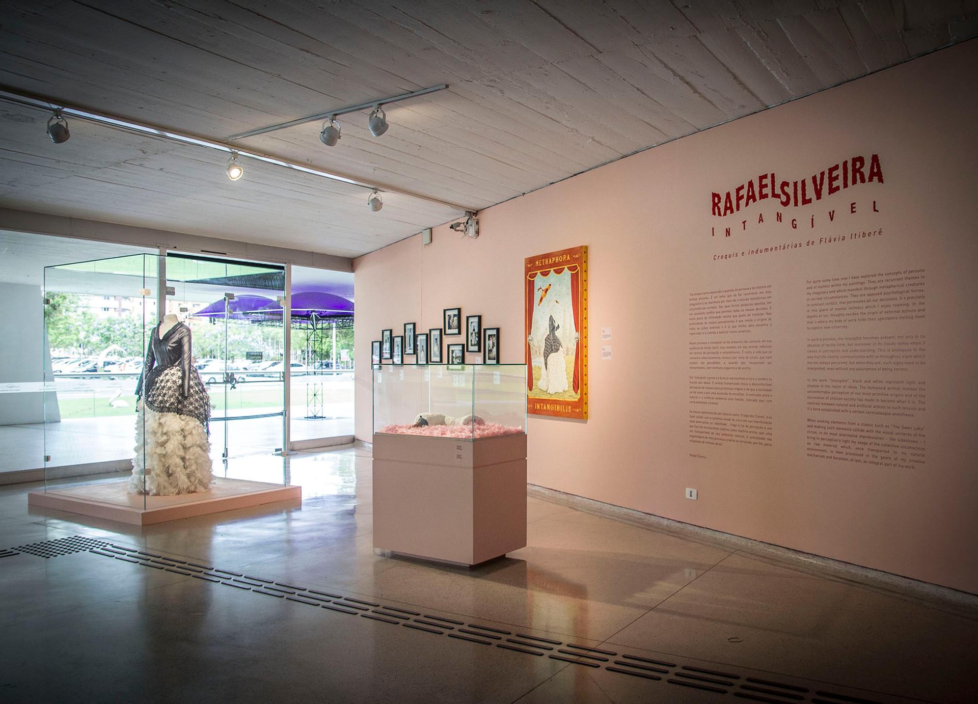 Intangível (detail of art installation at Oscar Niemeyer Museum)